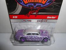 Hot Wheels 2009 Wayne's Garage Series Shoe Box (Purple/White)