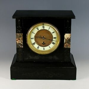Antique French 8 Day Mantle Clock, Just Serviced