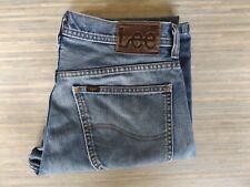 Men's Lee Denver Flared Fitting Blue Jeans W32 L32 Not Levi 516