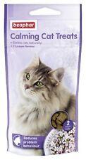 Beaphar Calming Cat Treats 35g Bags Stress Anxiety Relief Chicken Treats