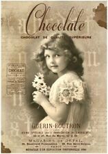 Decoupage-Bastelpapier-Softpapier-Vintage-Shabby-Girl-Mädchen-12738