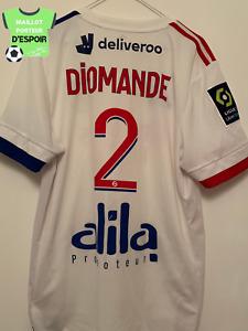 Maillot non porté, préparé, match unworn shirt,  DIOMANDE OL Lyon (MHSC - Lyon)