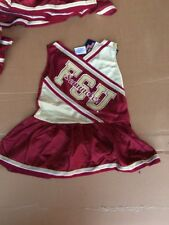 New Florida State Youth Cheerleader Dress Size 4T