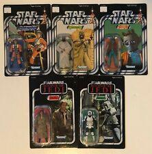 Star Wars The Saga Collection Lot of 5 Luke, Han, Greedo, Biker Scout, Tusken