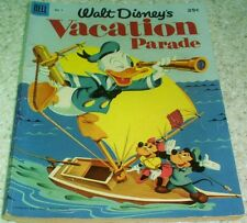 Walt Disney's Vacation Parade 4, FN+ (6.5) 1953, 100 pages! 40% off Guide!