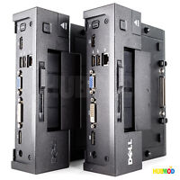 2X DELL Latitude E-Port Replicator Docking Station E6400 E6410 E6420 E6430 E5400