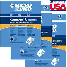 30 Sears Kenmore Vacuum Cleaner Bags 5055 50557 50558 DVC
