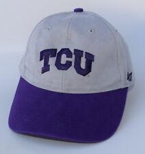 TCU TEXAS CHRISTIAN UNIVERSITY Size YOUTH Adjustable '47 BRAND Baseball Cap Hat