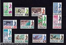 Gibilterra - 1960-62 Breve Set Da 5 / - U / M-SG 160-71