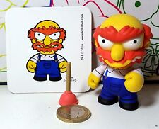 The Simpsons Willie Scots Kidrobot vinyl figure 7cm