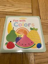 Tiny Touch, Fun with Colors by Holly Brook-Piper and Little Bee Books Staff