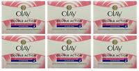 Olay Double Action Moisturiser Normal Dry Skin Night Cream, 1.7 oz (6 Pack)