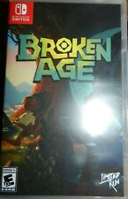 Broken Age NSW Limited Run Games Nintendo Switch New Authentic Rare
