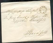Cassel 1849 vorphila NOBILTA lettera (r0581a