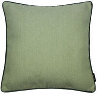 McAlister Textiles Herringbone Boutique | Sagegreen with Grey Cushion Covers &..