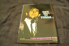BUCK OWENS 1969 ad & CAPITOL Frank Sinatra Dean Martin, Nat King Cole, Peggy Lee