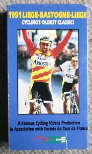 1991 Liege Bastogne Liege Famous Cycling Videos VHS  Very Clean