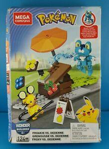 Mega Construx Pokemon Froakie vs Dedenne DAMAGED BOX