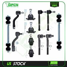 12pc Front Suspension Pitman Arm Kit for Chevrolet and GMC Trucks - 4x4 / 4WD