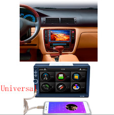 7'' Double 2Din 7-Color Backlight Car Radio Stereo Bluetooth MP5 MP3 Player AUX