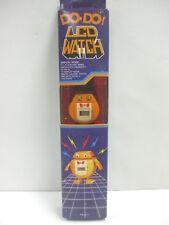 Vintage 1984 Tai Fong -Do•Do LCD Robot Watch #TS-311 - New in Original Box