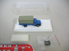 k444-0, 3 #1x BREKINA HO 4600 Magirus Deutz, Tarpaulin/ Flatbed, BOXED