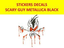 SCARY GUY METALLICA STICKER VINYL BLACK VISIT OUR STORE WITH MANY MORE MODELS