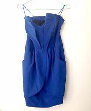 GUESS blue strapless dress - Size 6