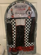 Nwot Sexy Playboy Team Playmate Race Car Costume Adult Size Large