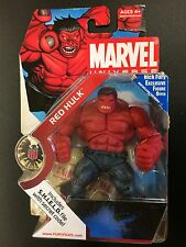 Marvel Universe RED HULK Action Figure S.H.I.E.L.D. Nick Fury Hasbro