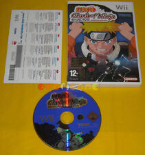 NARUTO CLASH OF NINJA REVOLUTION Wii Versione Italiana Vip New »» SENZA MANUALE