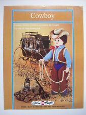 """Western Outfit Cowboy  16"""" doll clothes crochet patterns"""
