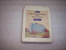 8 TRACK<<FORD MOTOR COMPANY CAR 8 TRACK  D6AA-19A059-AB  1976    18