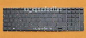 New for HP 250 G4 255 G4 256 G4 Keyboard Portuguese Teclado No Frame, Black