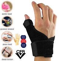 Thumb Splint Support and Hand Wrist Stabiliser Spica Brace Arthritis Pain Relief