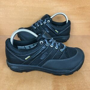 Keen Presidio Sport Waterproof Mesh Hiking Trail Shoe Womens Size 8 Black NEW