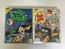 LucasArts Day Of The Tentacle Sam & Max Hit The Road ENHANCED MAC VERSION SEALED