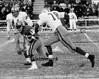 1966 CFL Gene Wlasiuk Saskatchewan Roughriders Returns a Punt  8 X 10 Photo Pic
