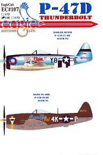 EagleCals Decals 1/48 REPUBLIC P-47D THUNDERBOLT Elsie/Lil Butch  Sigma Nu Girl