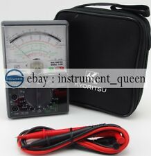 Kyoritsu 1109s Analogue Multimeters With Carrying Case