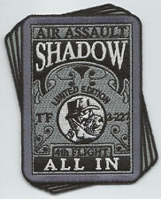 """TF  3/227th 4th FLIGHT """"ALL IN"""" #2 patch"""