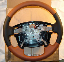 Land Rover Brand Range Rover Sport Autobiography Tan Bi-Colored Steering Wheel