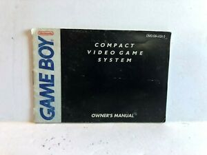 Game Boy Compact System DMG-GB-USA-5 Manual ONLY Insert Authentic Booklet
