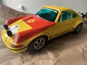 RARE SCHUCO PORSCHE 911 R RALLYE MONTE CARLO 356 218 BATTERY OPERATED 1/16 WORKS
