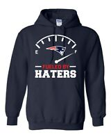 New England Patriots Fueled By Haters Hoodie S-5XL Tom Brady FREE SHIPPING
