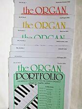 Lot of 7 The Organ Portfolio Bi-Monthly Anthology Church Organist Intermediate