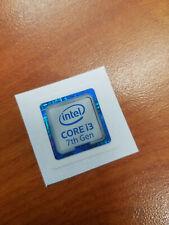 INTEL CORE i3 7th Gen CPU STICKER DECAL COMPUTER PC CASE BADGE