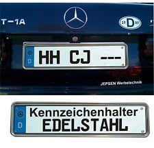 Edelstahl Kennzeichenhalter Verstärker E46 für 46x11cm Kennzeichen Schilder