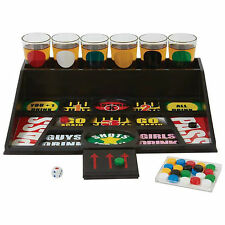 31 pcs Gambling Drinking Game Alcohol Beer College Party Bar with 6 Shot Glasses