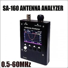 SURECOM SA160 0.5-60MHz Colour Graphic ANTENNA ANALYZER for two way radio